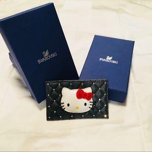 fd5521ace Swarovski Bags | Hello Kitty Card Holder | Poshmark